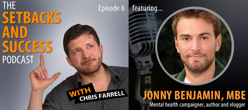 Episode 6: Jonny Benjamin MBE | Mental health campaigner, author and vlogger